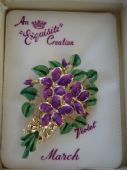 "VINTAGE BROOCHES AND PINS -  ALL SIGNED ""EXQUISITE""  -  CLICK HERE TO BROWSE"